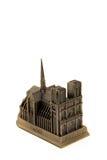 Copia de bronce miniatura de Notre Fotografía de archivo libre de regalías