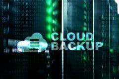 Copia de seguridad de la nube Prevención de la pérdida de datos del servidor Seguridad cibernética imagenes de archivo