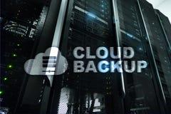 Copia de seguridad de la nube Prevención de la pérdida de datos del servidor Seguridad cibernética foto de archivo