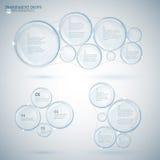 Copia infographic de la burbuja 02 A Imágenes de archivo libres de regalías