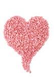 Copia rosada del corazón Fotos de archivo libres de regalías