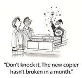 A copiadora não quebrou Fotografia de Stock Royalty Free
