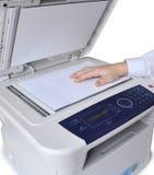 Copiadora y fax del laser Fotografía de archivo libre de regalías