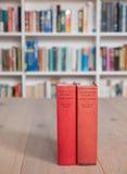 Copias envejecidas de las historias de los holmes del sherlock Foto de archivo