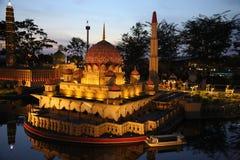 Copias miniatura de edificios en Malasia Imagen de archivo libre de regalías