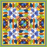 Copie colorée de bandana avec le kaléidoscope Photographie stock libre de droits