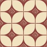 Copie de bloc configuration sans joint géométrique Rétro type Illustration de cru illustration libre de droits