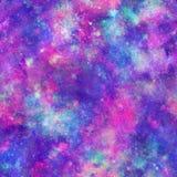 Copie de cosmos de galaxie d'explosion de couleur Images stock