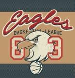 Copie de débardeur de ligue de basket-ball d'Eagles Photographie stock
