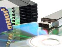 Copie de sauvegarde de données Photographie stock