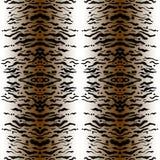 Copie faite main sans couture de tigre Images stock