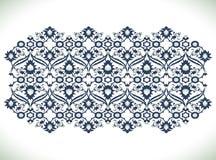 Copie florale de dentelle de décoration de damassé de vintage d'arabesque pour la conception Photos stock