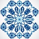 Copie florale de dentelle de décoration de damassé de vintage d'arabesque pour la conception Photographie stock