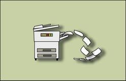 Copie la máquina Imagen de archivo libre de regalías