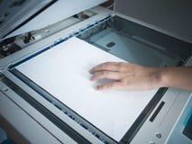 Copie la máquina de la impresión Fotos de archivo