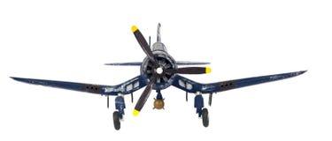 Copie modèle fait par soi-même d'avion de combat Photos stock