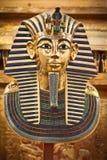 Copie moderne du masque funéraire de Tutankhamun image libre de droits