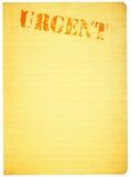 Copie o espaço para o índice urgente ilustração do vetor