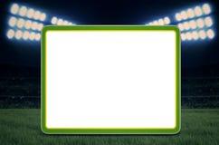 Copie o espaço para o jogo de futebol Fotos de Stock Royalty Free