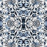 Copie sans couture animale de kaléidoscope Illustration de Vecteur