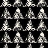 Copie sans couture de modèle de textile Expressif à la mode de mode illustration stock