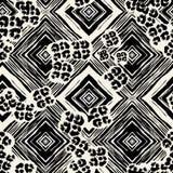 Copie sans couture de modèle de textile Expressif à la mode de mode illustration de vecteur