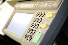 Copier center Royalty Free Stock Photography