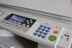 Copier machine in office. Royalty Free Stock Photos