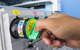 Copier toner cartridges Stock Photography