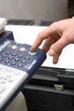 Copieur et fax de laser photo libre de droits