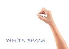 Copiez l'espace Photographie stock