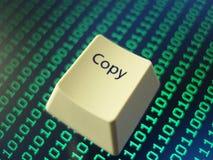 Copiez la clé Image libre de droits