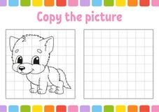 Copiez la photo Pages de livre de coloriage pour des enfants Fiche de travail se d?veloppante d'?ducation Jeu pour des enfants Pr illustration de vecteur