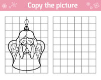 Copiez la photo pour des enfants Jouets de Noël, ange illustration de vecteur