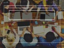 Copiez le concept gratuit de Gap d'idée de l'espace de cadre vide de créativité Images stock