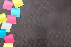 Copiez le fond concret de l'espace pour le message d'éducation ou la communication d'affaires images stock