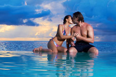Copile at Maldives Royalty Free Stock Photo
