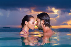 Copile at Maldives Stock Photo