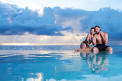 Copile at Maldives Royalty Free Stock Photos