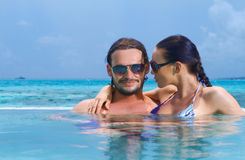 Copile at Maldives Royalty Free Stock Images