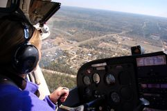 Copilot's view Royalty Free Stock Images