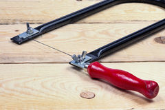 Coping Saw Royalty Free Stock Photography