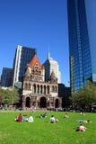 Copley Quadrat, Boston lizenzfreie stockfotografie
