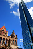 Copley Square, Boston Royalty Free Stock Photos