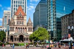 Copley Square in Boston (2) Stock Image