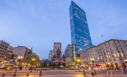 Copley Square in Boston, MA, USA Stock Photo