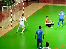Copo 2008-2009 do UEFA Futsal Imagens de Stock Royalty Free