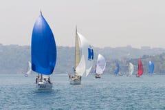 Copo Bosphorus 2011 da navigação da coleção de W Fotografia de Stock Royalty Free