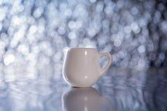 Copo branco Imagem de Stock Royalty Free