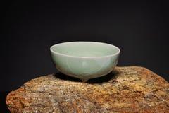 Copo chinês da porcelana Imagem de Stock
